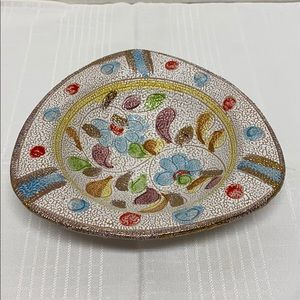 Italian Decorative Candy Dish Vintage